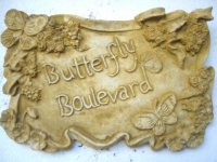 Plaque - Butterfly Boulevard