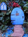Fairy Set Fairy Door Home Sweet Home, Fairy Window Enchanted Small and Fairy Pathway Log