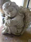 Statue - Cherub Sitting Girl