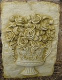 Plaque - Urn Rose Display
