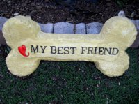 Plaque - Dog Bone Best Friend