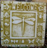 Plaque - Dragonfly Welcome