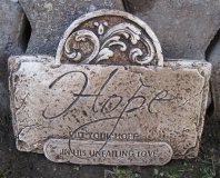 Plaque - Hope Put Your Love Into His Unfailing Love
