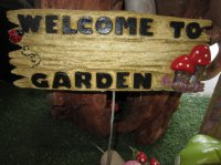 Stake Fairy Sign
