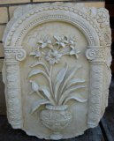 Plaque - Grecian Floral Large