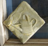 Plaque - Watering Can Square Small