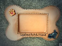 Memorial - Pet Bone Picture Frame