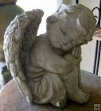 Statue - Cherub Sitting Boy