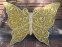 Plaque - Butterfly Filigree Large