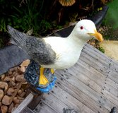 Hand Painted - Statue Seagull Large