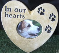Memorial - Frame Heart In Our Hearts
