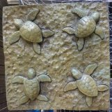 Plaque - Turtles Bali