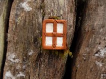 Fairy Window Rustic Square Small