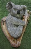 Hand Painted - Plaque Koala Sitting In A Branch
