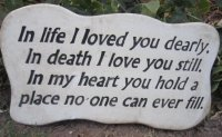 Memorial - In Life I Loved You Dearly