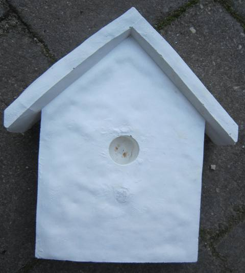 Plaque - Raw Birdhouse - Click Image to Close